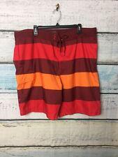 Old Navy Mens Stripped Swim Trunks Swimsuit Size XXL