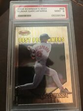 1999 Bowman's Best #89 NOMAR GARCIAPARRA PSA MINT 9 Red Sox