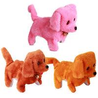 Electric Short Floss Dog Toys Electric Dog Walking Barking Toy Moving DogC3B