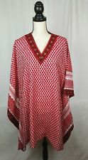 Original Jordanian Red white Keffitey Shemagh Poncho Arab Cotton Hatta New AL
