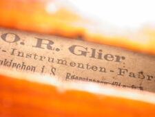 4/4 Violine von O.R. Glier, Markneukirchen, Geige
