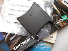 FLIP COVER GUSCIO  ORIGINALE ERICSSON T28 s COMPLETO DI MICROFONO grigio