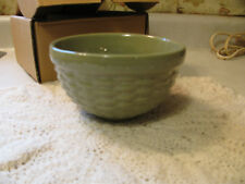 "Longaberger Woven Reflections 5"" Sage Bowl"