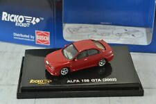 RICKO 38839 Alfa Romeo 156 GTA Red 1:87 Scale HO