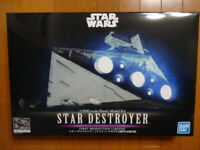 Star Wars 1/5000 STAR DESTROYER LIGHTING MODEL FIRST PRODUCTION BANDAI LIMITED