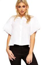 Maglie e camicie da donna colletto classici cotone , Taglia 42