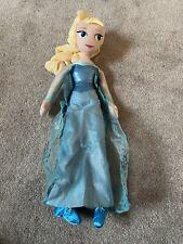 Disney Princess Elsa - Frozen Soft Toy Doll, Plush Teddy, Disney Store