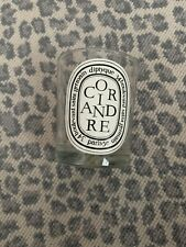 EMPTY Diptyque Coriandre Candle Jar Glass 6.5 oz