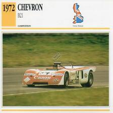 1972 CHEVRON B21 Racing Classic Car Photo/Info Maxi Card