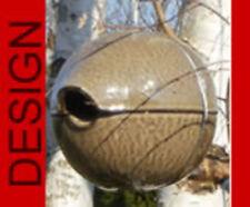 Vogelhaus  Zaunkönig Kugel Nistkasten Tierhöhle Keramik