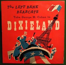 "Vintage Jazz music LP - 1958 ""The Left Bank Bearcats - Dixieland"". GGL 0041"