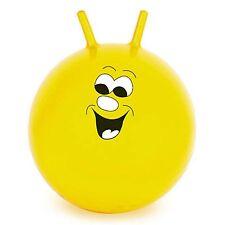 """60cm/24"""" enfants/adulte space hopper jump & bounce intérieur/extérieur jouet en jaune"""