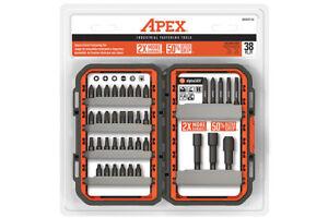 AMSET-38 Apex Tool Multi-Tool Industrial 38Pc Fastening Set
