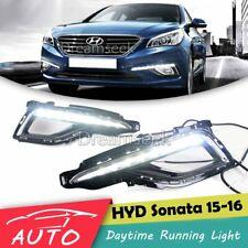 DRL FOG LAMP FOR HYUNDAI SONATA LF 2015 2016 LED DAYTIME RUNNING LIGHT BEZEL