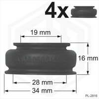 Ball joint rubber boot dust cover universal 4 x 19x28x16 track rod end Car Van