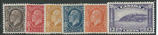CANADA 1932 DEFINITIVES (LESS 1CENT) MOUNTED MINT SG320/325