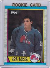 JOE SAKIC 1989 RC Quebec Nordiques NHL ROOKIE CARD Hockey COLORADO AVALANCHE