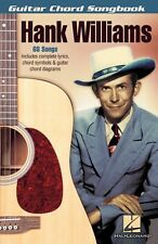 Hank Williams Sheet Music Guitar Chord SongBook NEW 000700607
