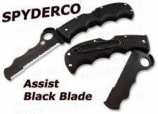 C79psbbk Spyderco - Couteau 'assist I'