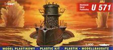 U-Boot U 571 tipo VII C-WW II sommergibile tedesco #40049 1/400 Mirage