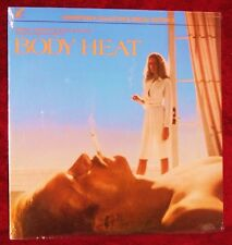 OST BODY HEAT JOHN BARRY 1983 LABEL X LXSE 1-002 SEALED