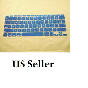 Silicone Keyboard  Protector Cover Skin for Apple Macbook Air 13