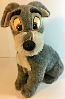 Vintage Disney Tramp Plush with Blue Collar From Lady and the Tramp Large 18""