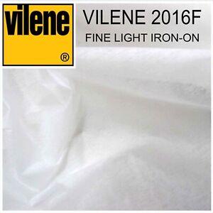 Vilene 2016F Fine Light Iron-on Interfacing - 10 Metres