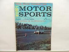 May 1962 TODAY'S MOTOR SPORTS Magazine BSA Royal Star Twins Daytona L10981