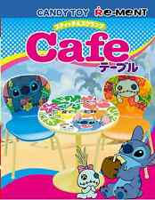 Re-Ment Miniature Disney Stitch Cafe Table Chairs Set