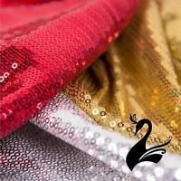 Sequin Spandex Nylon Lycra 4 Way Stretch Fabric  - Glimmer (Price per 50cm) - Da
