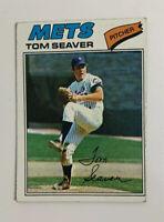 1977 Tom Seaver # 150 Topps Baseball Card New York Mets NY HOF