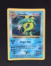 Pokemon Card Gyarados 6/102 Shadowless Base Set Holo