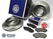 fits: MAZDA B2500 & BT50 2002-11 4x4 *2 x QUALITY FRONT BRAKE DISCS & PADS SET*