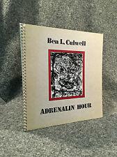 Texas Modernist Art: Ben Culwell. Adrenalin Hour.  Scarce in this condition.