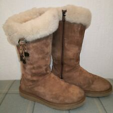 Rare UGG Australia Plumdale Charm Boots UK 6.5 S/N 1006710