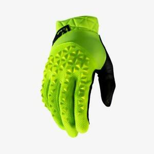 100 Percent GEOMATIC Glove Fluo Yellow MD