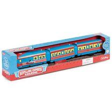 SCHYLLING EXPRESS RAILROAD -15138LU BOXED TINPLATE CLOCKWORK WIND UP TRAIN KIDS