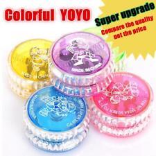 Cool Light Up YoYo Flashing LED Glow Colorful Yo-Yo Spinner Top Kids Party Toy