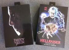 Neca Freddy vs. Jason & Hellraiser Ultimate Pinhead Figures, Never Opened!