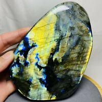 Natural Labradorite Crystal Rough Polished Rock From Madagascar 790g