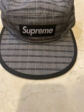Supreme Nepal Woven Fitted Camp Cap Medium Large