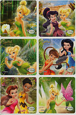 Tinkerbell Great Fairy Rescue x 6 Stickers - Birthday Favours/Tinker Bell Reward