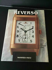 Jaeger LeCoultre Reverso Book By Manfred Fritz Deutch! Very Cult Book!