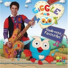 GIGGLE AND HOOT GIGGLE-ICIOUS FAVOURITES CD NEW