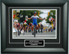 Peter Sagan Signed 8X12 inches 2015 UCI World Road Race Champion Photo Frame