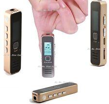 REGISTRATORE VOCALE MINI DIGITALE SD FINO A 16GB USB MP3 VOICE RECORDER