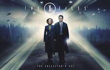 The X Files Complete seasons 1, 2, 3, 4, 5,  6, 7, 8 & 9 Blu ray Box Set RB dent