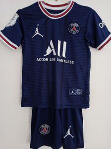 PSG Paris Kindertrikot +Short Messi Trikot Satz Neu Size ab 116 bis 164