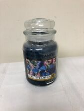 "Yankee Candle Retired ""COUNTRY HEATHER"" RARE Blue"
